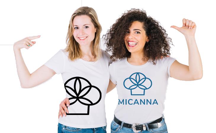 Women wearing Micanna Shirts